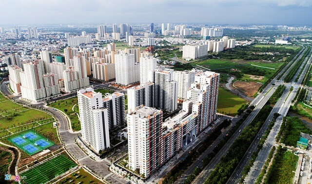 Theo CBRE, giá bán căn hộ chung cư năm 2018 sẽ tăng từ 3-6%.