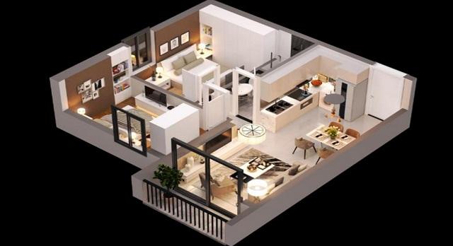 Với diện tích vừa phải, thiết kế thông minh và đầy đủ tiện ích, các căn hộ SOHO có tính thanh khoản rất cao với các nhà đầu tư.