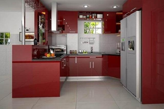 Phòng bếp nên được dọn dẹp sạch sẽ thường xuyên. Ảnh minh họa