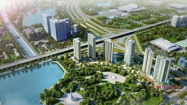 D'.Capitale sở hữu vị trí kim cương đắc địa bậc nhất cửa ngõ phía Tây thủ đô Hà Nội