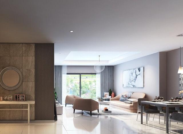Đa dạng diện tích và loại căn hộ giúp khách hàng dễ dàng lựa chọn được căn hộ ưng ý khi đến với dự án D'.Capitale