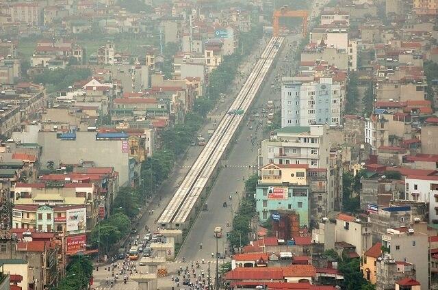 Quy hoạch tuyến tàu điện trên cao Cát Linh giúp bất động sản khu vực xung quanh được hưởng lợi