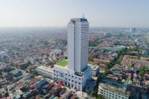 Vincom Plaza Phủ Lý có vị trí tuyệt đẹp và là tòa nhà cao nhất thành phố