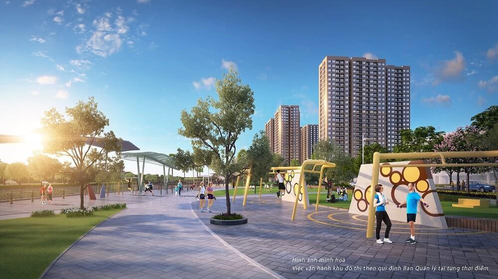 VinCity Ocean Park được trang bị hệ thống tiện ích giúp rèn luyện sức khỏe hiện đại và quy mô bậc nhất Việt Nam