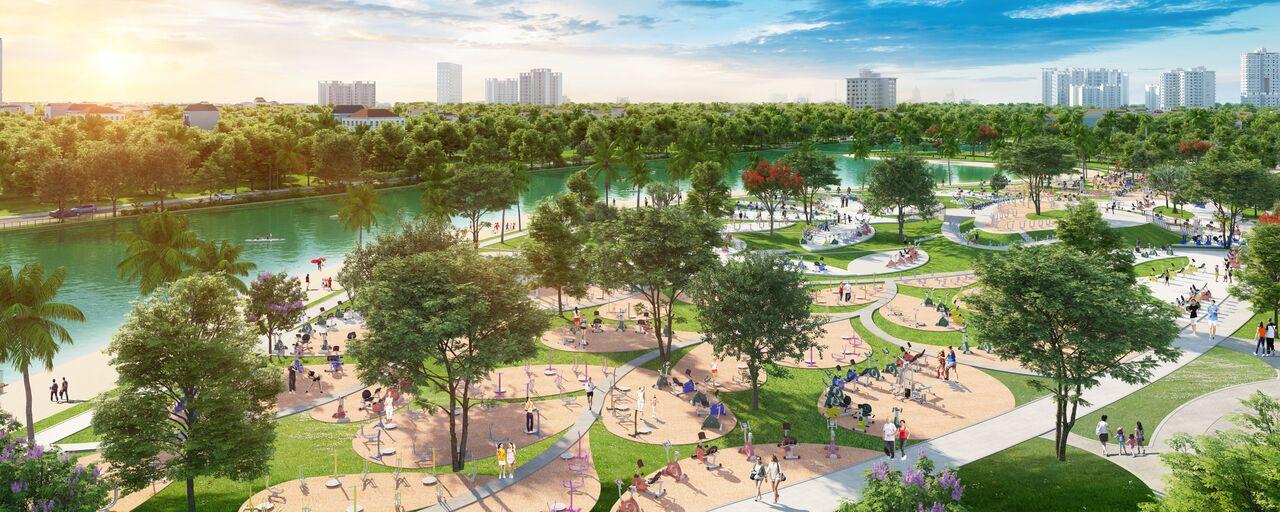 Sức hút của dòng sản phẩm VinCity còn đến từ vị trí thuận lợi cùng hệ sinh thái và không gian sống đẳng cấp Singapore và hơn thế nữa