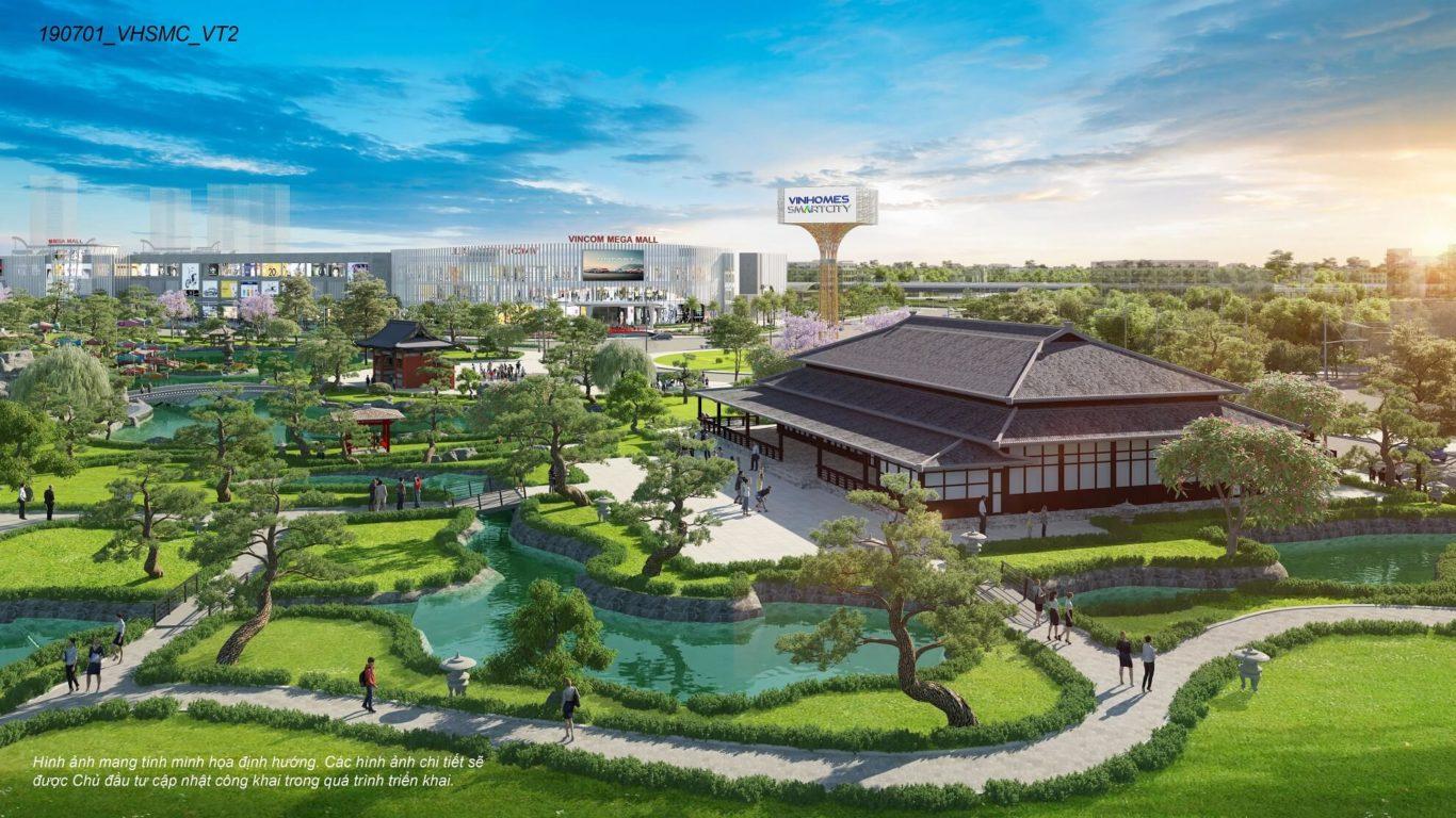 Vinhomes Smart City: sống xanh trong lòng đô thị thông minh