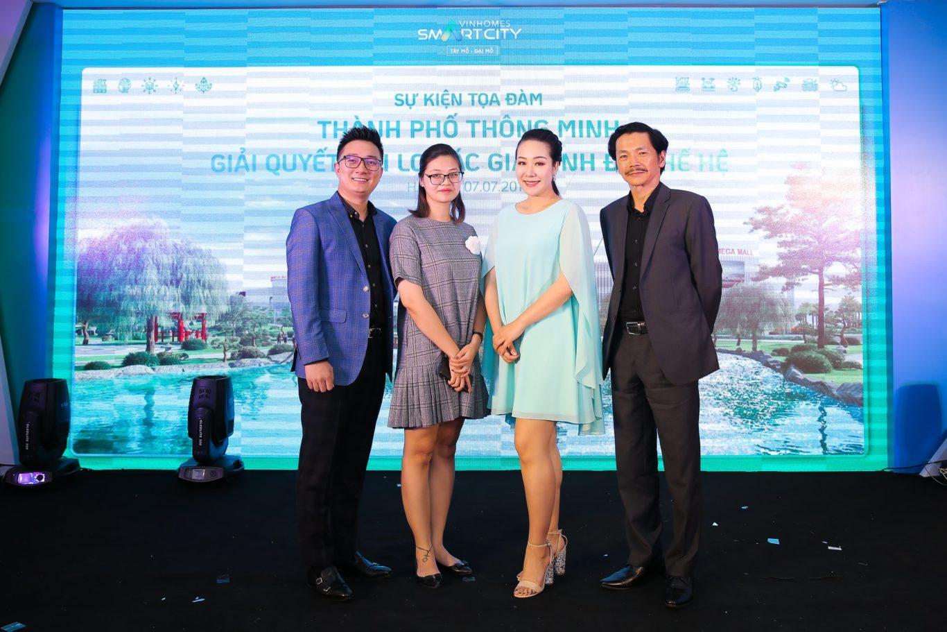 Hoa Hậu Ngô Phương Lan nói gì về Vinhomes Smart City