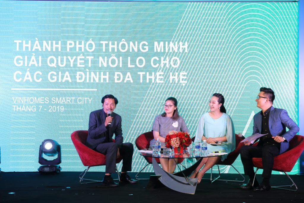 Khách mời sự kiện Vinhomes Smart City